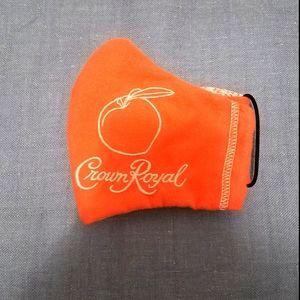 COPY - Crown Royal Peach face mask